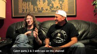 ANVIL Interview with Lips: Shockwaves VideoCast Ep. 7 (Part 1)