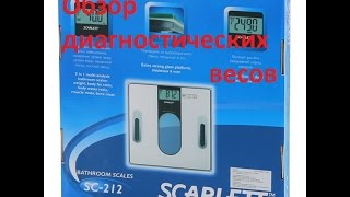 Весы Scarlett sc-212 обзор с пристрастием