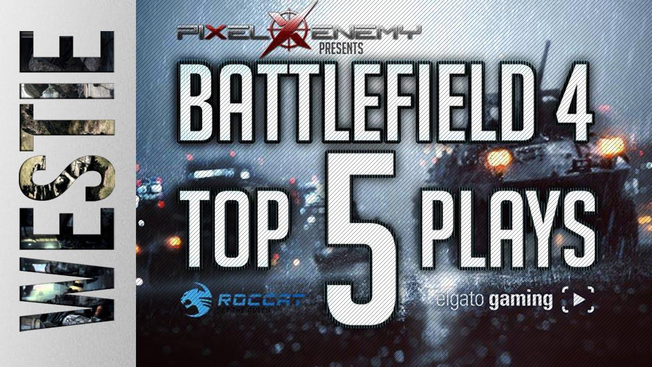 Download ► Battlefield 4 - Top 5 Plays Announcement! WIN ELGATO CAPTURE DEVICE!