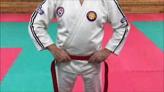 How To Tie A Belt - Masters Of Martial Arts