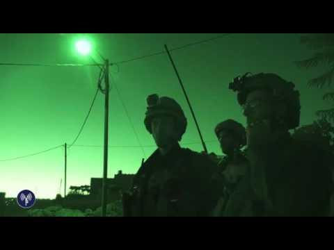 IDF overnight capture of Hamas terror cell  - July 27, 2016