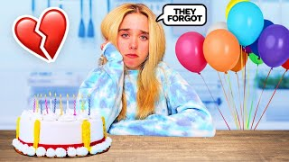 I WAS ALL ALONE ON MY BIRTHDAY **EVERYONE FORGOT** | Jenna Davis