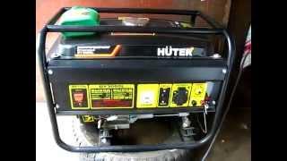 видео Бeнзиновые гeнерaторы Huter (Китай) купить в Барнауле