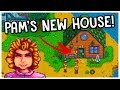 Building PAM Her Very Own HOUSE! *NEW CONTENT* - Stardew Valley 1.3 Update