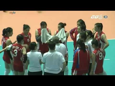 Bangkok Glass Vs April 25 l 2015 Asian Women's Club Volleyball Championship l Quarterfinals l Set 1