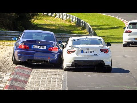 Nordschleife Highlights, Oil / Coolant Spill & Supercars - 20 04 2019 Touristenfahrten Nürburgring