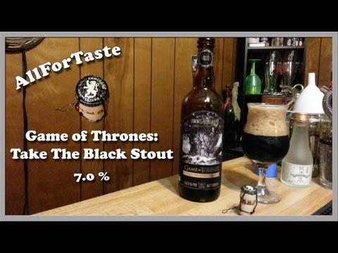 Game Of Thrones - Take The Black Stout