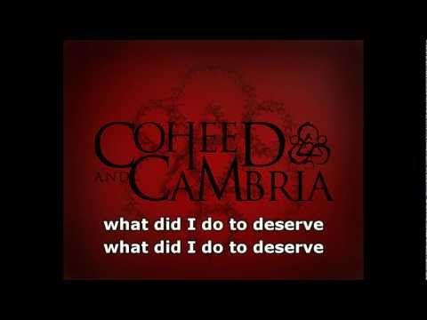 Blood Red Summer by Coheed and Cambria with lyrics