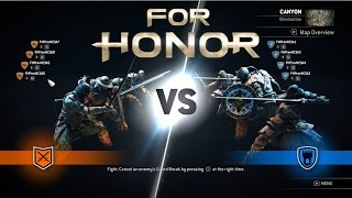 For Honor - 4v4 Elimination Orochi Gameplay