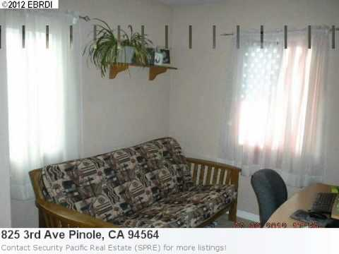 Real Estate In Pinole, Ca- 825 3rd Ave Is An Impressive 3 Be
