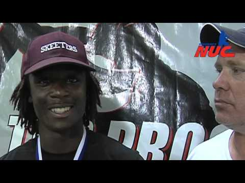Dameon Gamblin - Class of 2013 - WR MVP - Top Prospect Elite 2011 - National Underclassmen