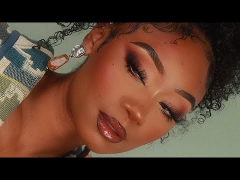 Warm Smoky Fox Eye Makeup Look | MakeupTiffanyJ from YouTube · Duration:  14 minutes 46 seconds