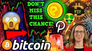 BREAKING!!! BITCOIN ETF FINALLY HERE!! NEW ALTCOIN CRAZE!!? DON'T MISS OUT!!