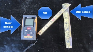 TacklifeHD Mute laser Measure (Tool review)