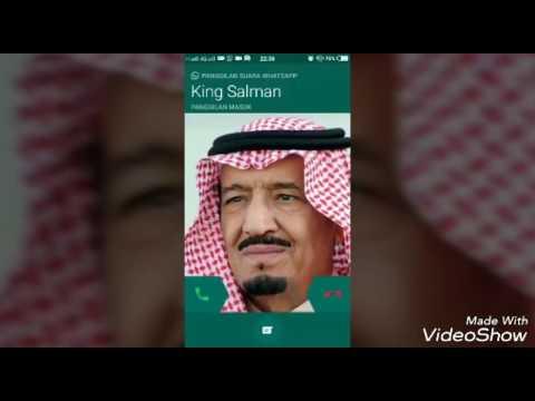 lucu calling whatsapp raja salman - YouTube