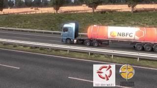 Euro Truck Simulator 2 - Game play - London to Frankfurt