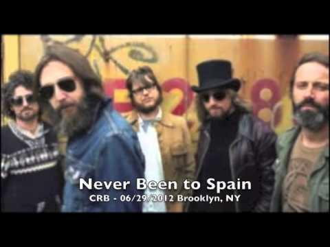 Never Been to Spain  Chris Robinson Brotherhood 6292012