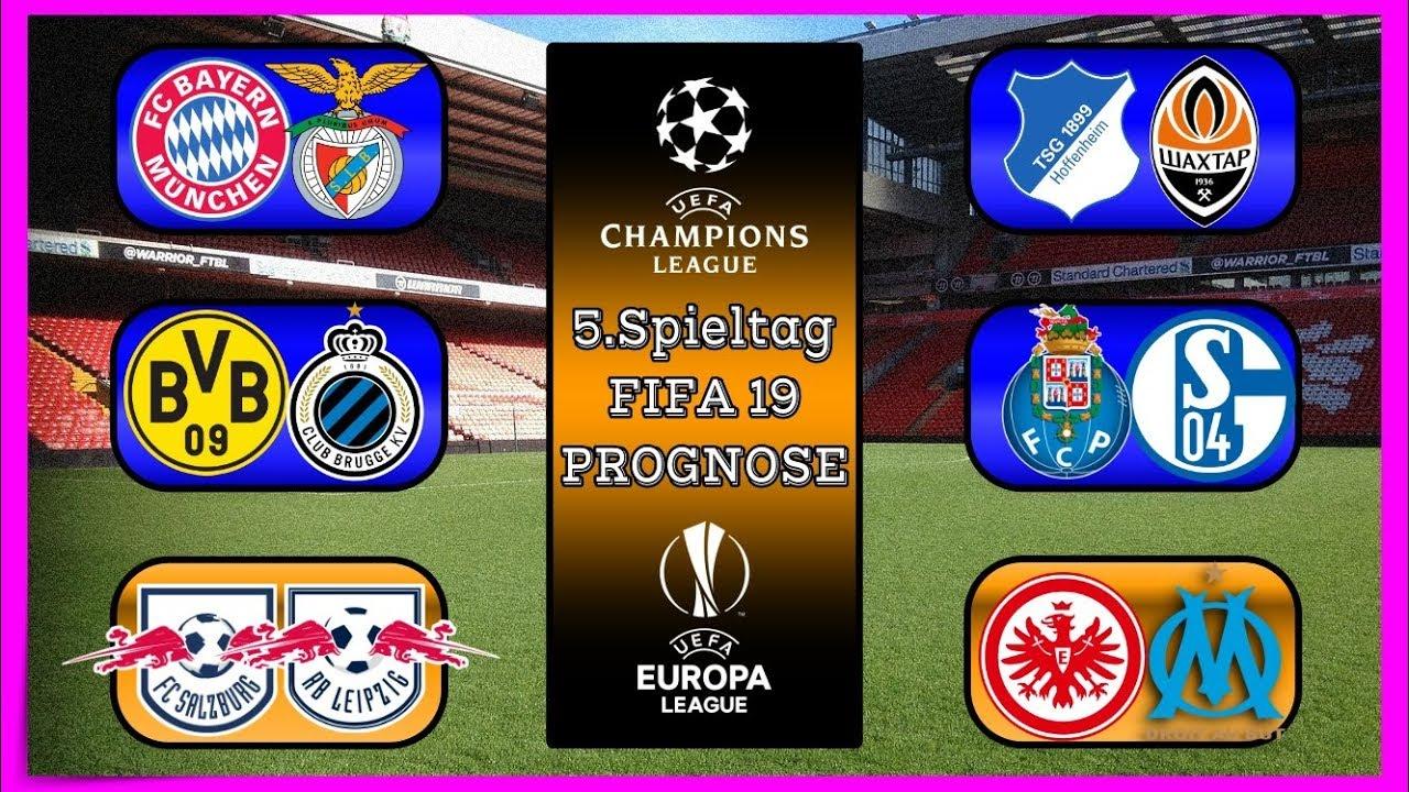 Champions League 5. Spieltag
