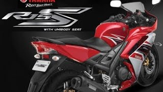 Yamaha YZF R15 S   Unibody Seat Sport bike -360 Degree view