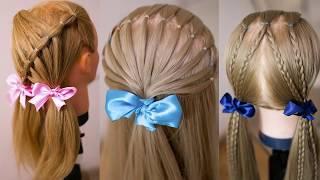 Очень ПРОСТЫЕ детские причёски  Причёска за 10 минут  Hair tutorial