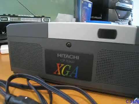 Hitachi CP-X960 Projector