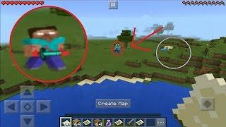 Real Proof Herobrine is Real In Minecraft Pe Herobrine Sighting! 100% REAL!