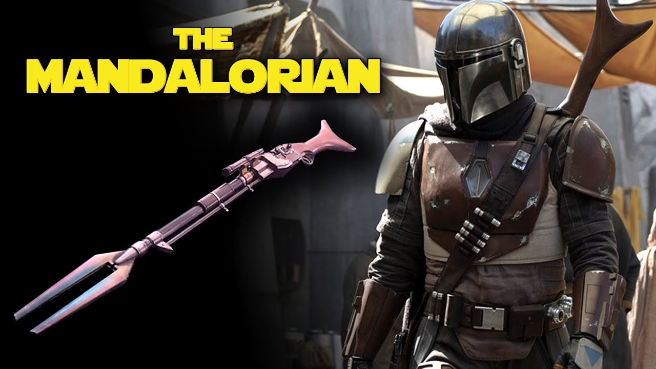 The Mandalorian Weapon Revealed New Details And Photo New Star Wars Tv Series 2019