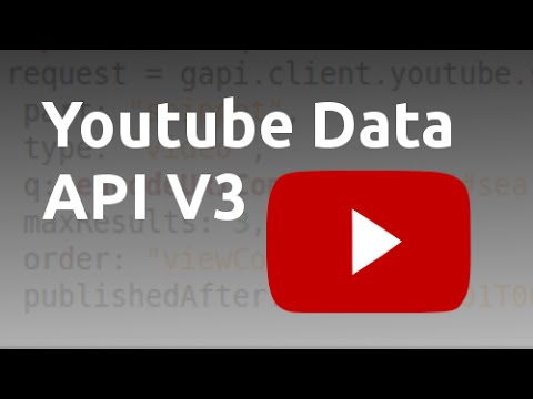 Using the Youtube API to search for videos