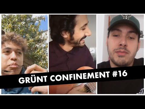 Youtube: Grünt Confinement #16 avec Tsew The Kid, Arthur Teboul (Feu! Chatterton) et Redwane Telha