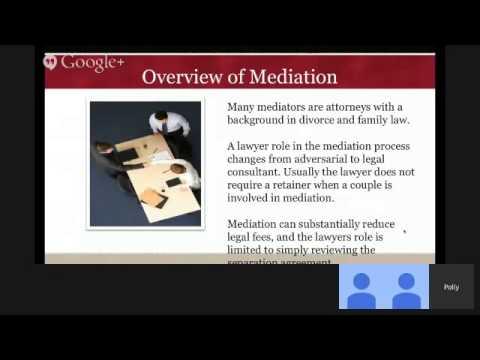 Divorce Webinar - Mediation Advantage