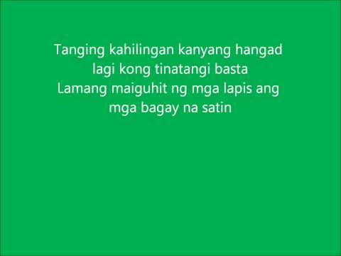 Tanging hiling part 2 Lyrics.wmv