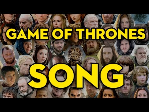 Every Game of Thrones Character Ever! - The Musical