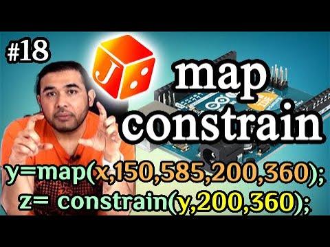 درس 518 من دورة الاردوينو -- Map Constrain