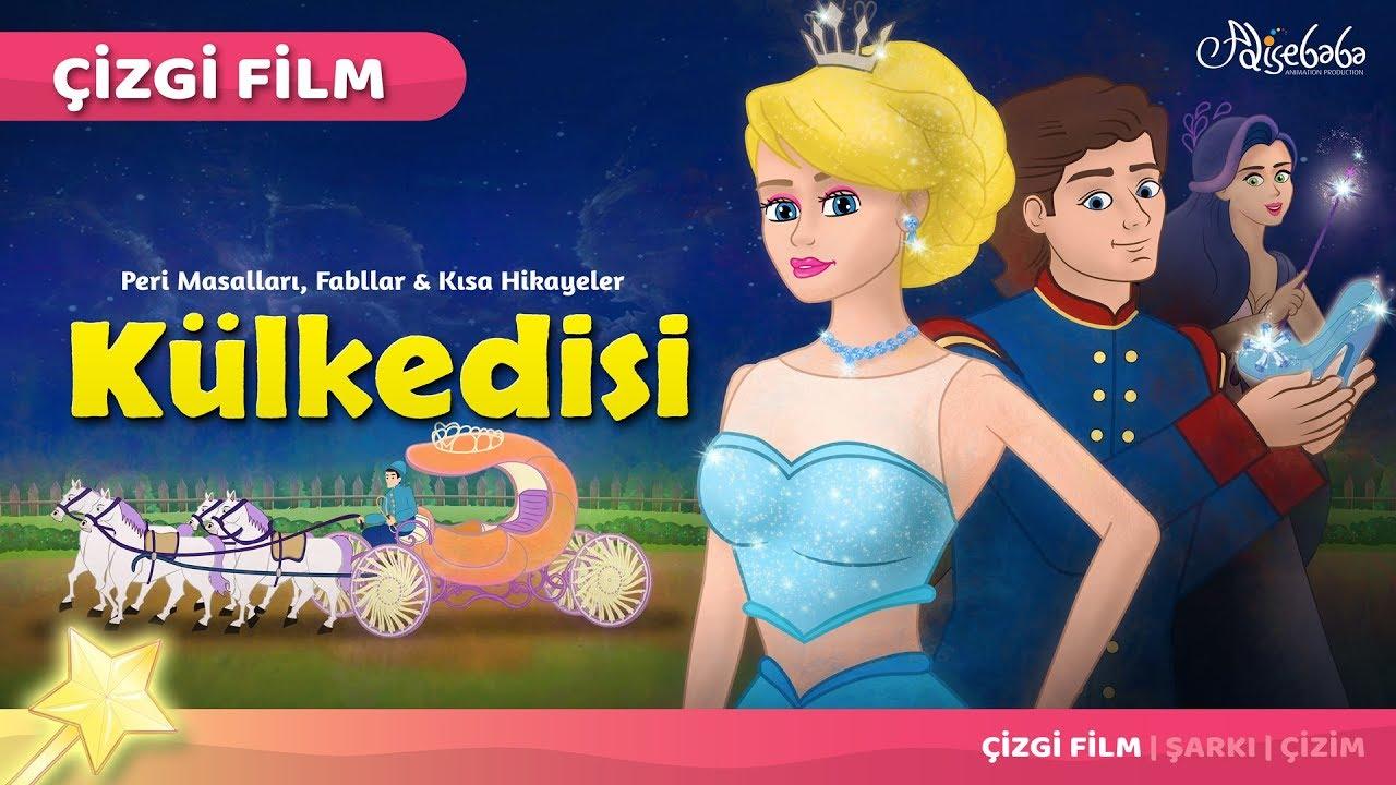 Külkedisi (Cinderella) çizgi film masal 39 - Adisebaba Çocuk Çizgi Film Masallar
