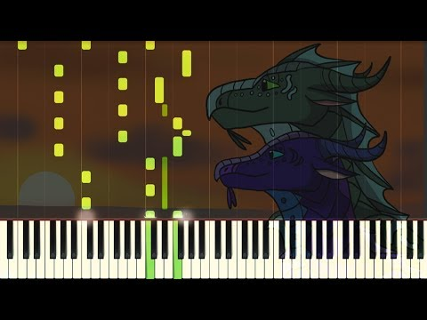 Wings of Fire Synthesia - Fathom's Folly (piano tutorial)