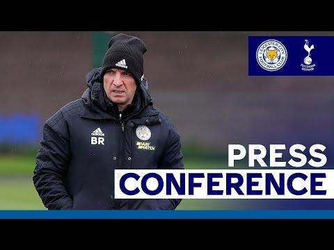 'It's Not Over' - Brendan Rodgers | Leicester City vs. Tottenham Hotspur