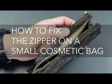 How to Fix the Zipper on a Small Bag