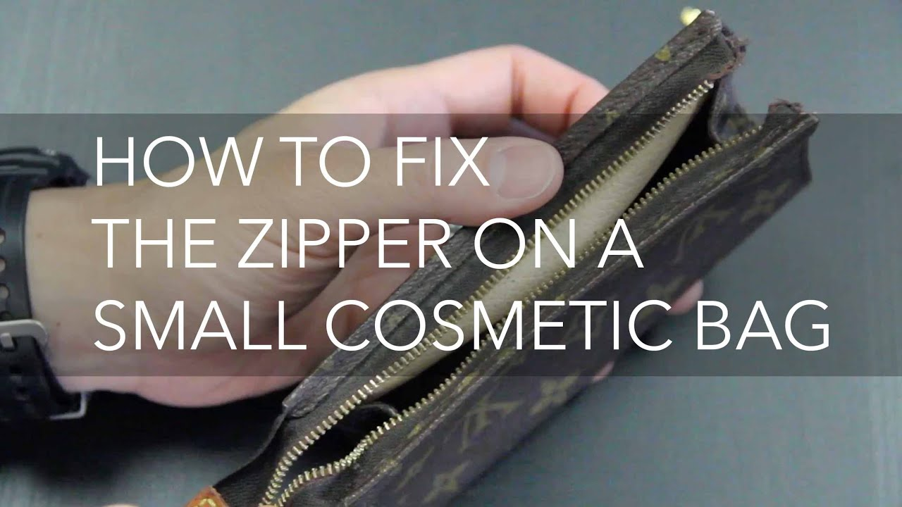 How to Fix the Zipper on a Small Bag - YouTube 33e401901c