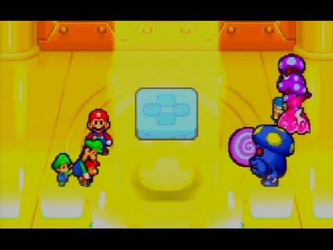 Mario Luigi Partners In Time 37 Boss Shrooboid Brat Youtube