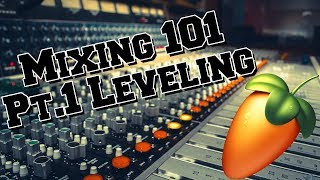 Mixing Beats 101 For Beginners Part 1 Leveling