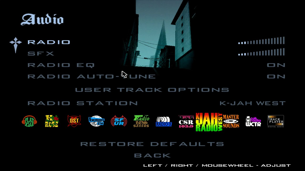 Grand Theft Auto: San Andreas - Forum - What keyboard
