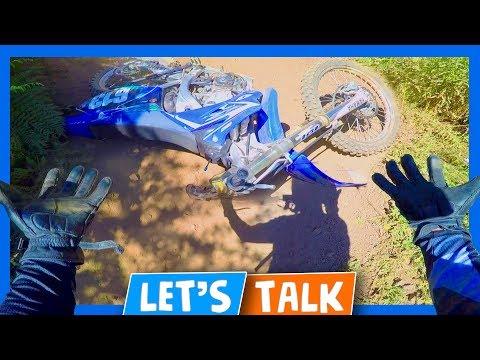 🤕 🏞 Dirt Bike Motovlog Crash 🌲 🎤 Jones Creek Trail Loop C 🎙 🏍