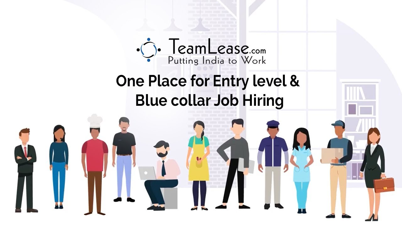 Best job portal for hiring Entry level & Blue collar workers