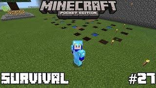 Minecraft PE Survival - Plantação de ABÓBORA - #27