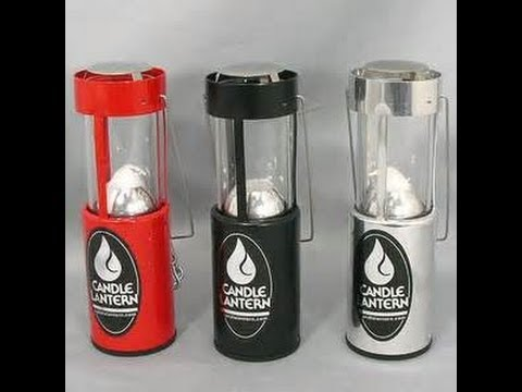 Unboxing Review UCO Candle Lantern backpacking heater ...