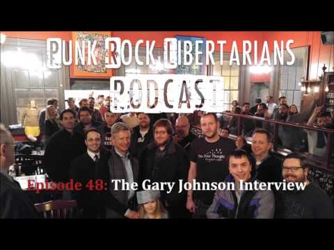 PRL Podcast Episode 48: The Gary Johnson Interview