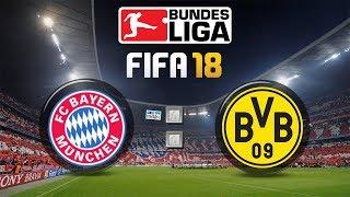 FIFA 18 Bundesliga FC Bayern München : Borussia Dortmund | Gameplay Deutsch Livestream