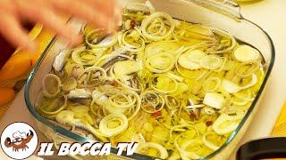 40 - Acciughe alla povera...bontà che un s'annovera (antipasto a base di pesce ricetta facilissima)
