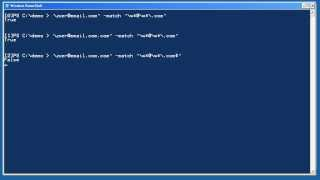 Windows PowerShell Intermediate Chapter 05 - Regular Expressions