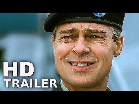 WAR MACHINE - Trailer Deutsch German (2017)